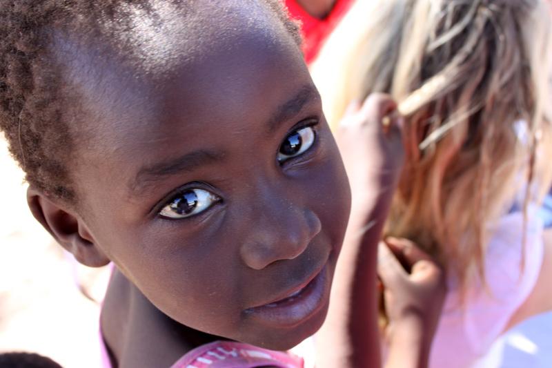 Why should people volunteer in Africa